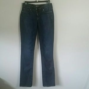 Lucky Brand Zoe Straight Jeans size 6